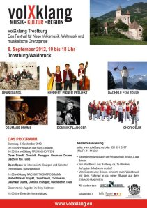 volXklang Trostburg 2012