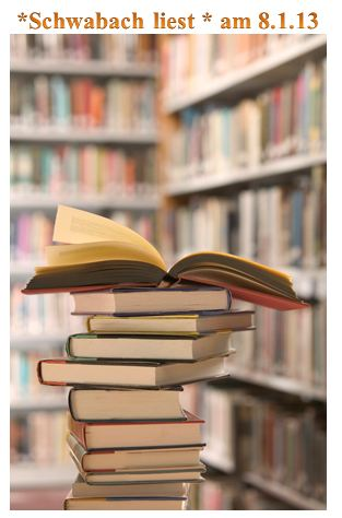 Schwabach liest am 8. Januar  2013